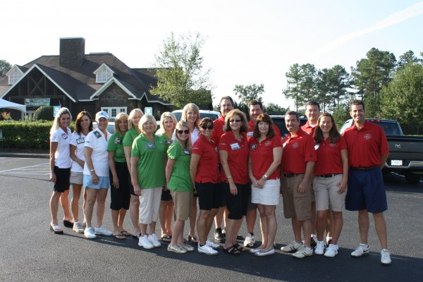 golf committee and volunteers