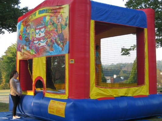 bounce house fun for the little ones