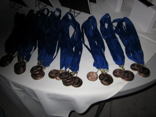 fun run medals