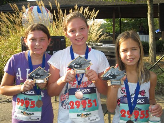 top fun run girls