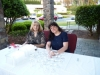 Christine Hoyt and Janice Sloan