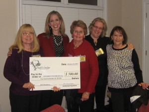 BSSL presents check to Children's Park of Georgia